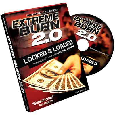 Extreme Burn 2.0: Locked & Loaded (Gimmicks and Online Instructions) by Richard Sanders - Trick