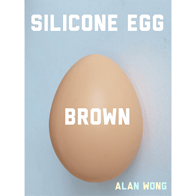 Silicone Egg (Brown) by Alan Wong - Trick
