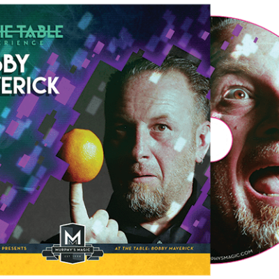 At the Table Live Lecture Bobby Maverick - DVD