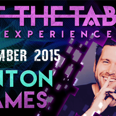 At the Table Live Lecture Anton James November 4th 2015 video DOWNLOAD