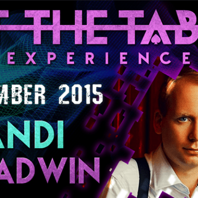 At the Table Live Lecture Andi Gladwin November 18th 2015 video DOWNLOAD