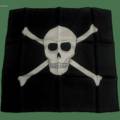 18 inch Skull Silk by Magic By Gosh