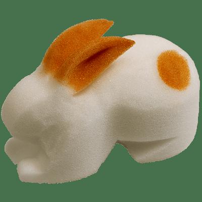 3D Rabbit 6.5 inch by Magic By Gosh