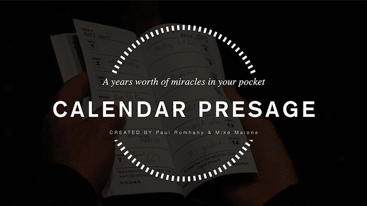 Calendar Presage by Paul Romhany - Trick