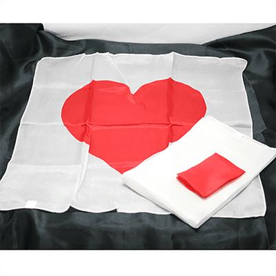 Heart Scarf Set by JL Magic - Trick