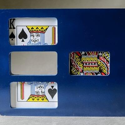 Zig Zag Card (Jumbo/Plastic) by Mr. Magic - Trick