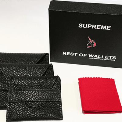 Supreme Nest of Wallets (AKA Nest of Wallets V2) by Nick Einhorn and Alan Wong - Trick