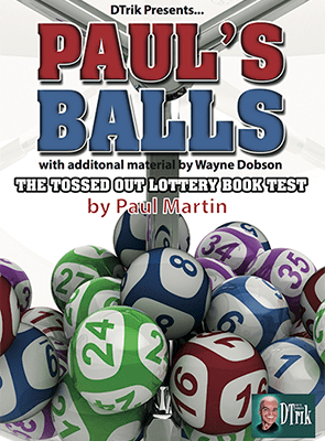 Paul's Balls (Gimmick and Online Instructions) by Wayne Dobson and Paul Martin - Trick