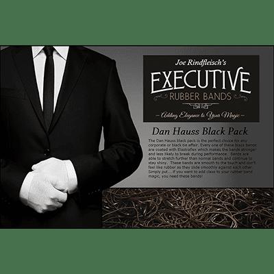 Joe Rindfleisch's Executive Rubber Bands (Dan Hauss - Black Pack) by Joe Rindfleisch - Trick