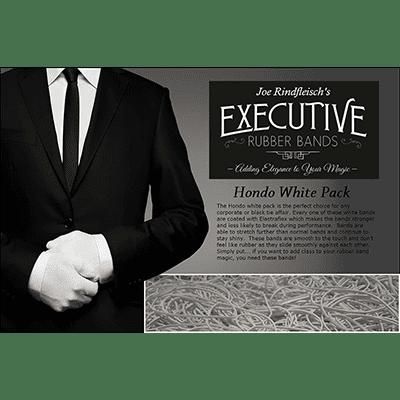 Joe Rindfleisch's Executive Rubber Bands (Hondo - White Pack) by Joe Rindfleisch - Trick