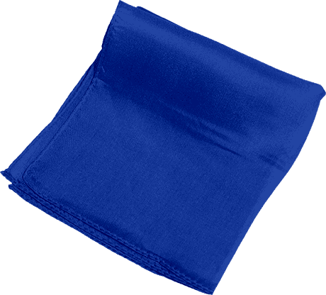 Silk 6 inch (Blue) Magic by Gosh - Trick
