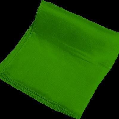 Silk 24 inch (Green) Magic by Gosh - Trick