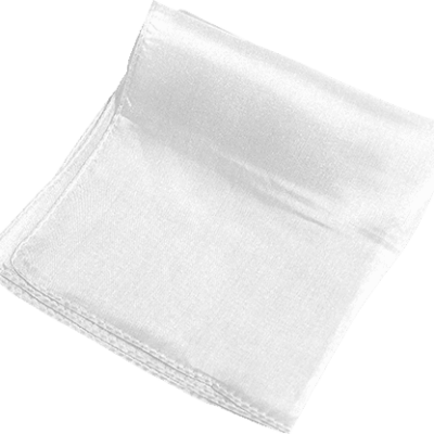 Silk 24 inch (White) Magic by Gosh - Trick