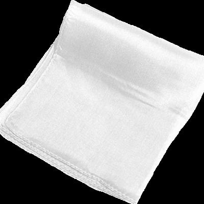 Silk 9 inch (White) Magic by Gosh - Trick