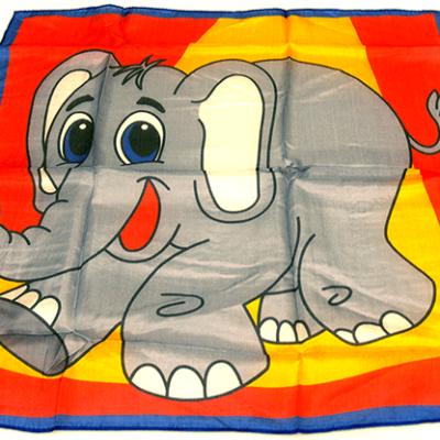 Silk 18 inch Elephant from David Ginn and Magic by Gosh - Trick