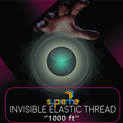 Invisible Elastic (1000 ft Spool) by Supreme Magic World - Trick