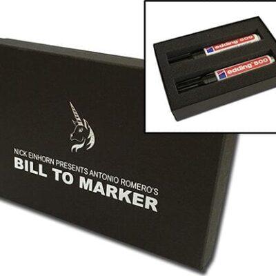 Bill To Marker by Nicholas Einhorn - Trick
