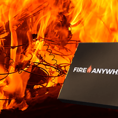 Fire Anywhere by Zyro and Aprendemagia (Gimmick and Online Instructions) - Trick