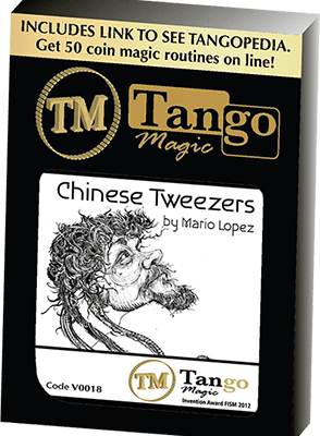 Chinese Tweezers by Mario Lopez and Tango Magic (V0018) - DVD