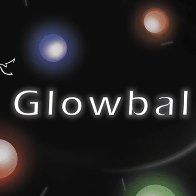 Glowbal 1.75 inch (White) single ball by Cigma Magic - Trick