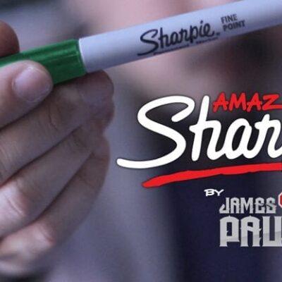 Amazing Sharpie Pen (Green) by James Paul - Trick