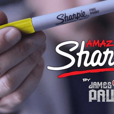 Amazing Sharpie Pen (Yellow) by James Paul - Trick