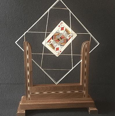 TV Card Frame by Tony Karpinski - Trick