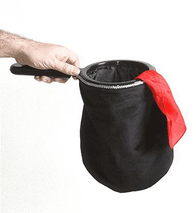 Change Bag Velvet REPEAT (Black) by Bazar de Magia - Tricks