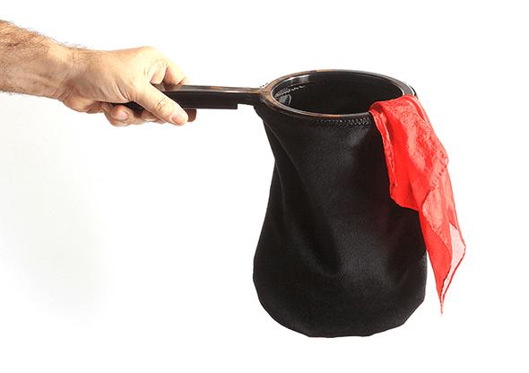 Change Bag Velvet REPEAT (All Black) by Bazar de Magia - Tricks