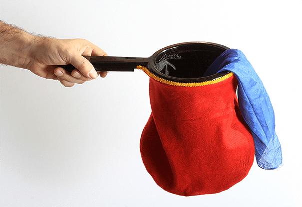 Change Bag Standard REPEAT (Red) by Bazar de Magia - Tricks