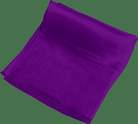 Silk 24 inch (Violet) Magic by Gosh - Trick