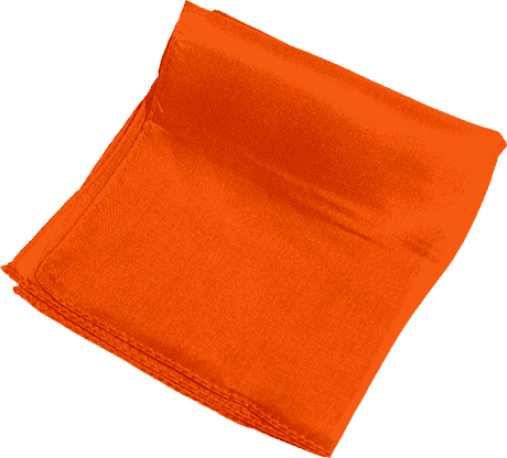 Silk 6 inch (Orange) Magic by Gosh - Trick