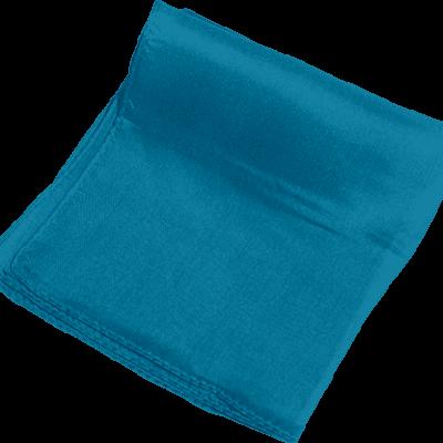 Silk 6 inch (Turquoise) Magic by Gosh - Trick