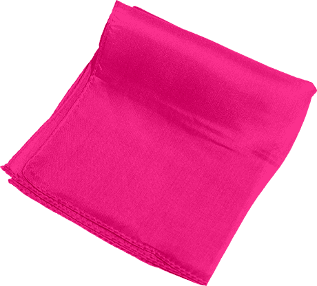 Silk 9 inch (Hot Pink) Magic by Gosh - Trick