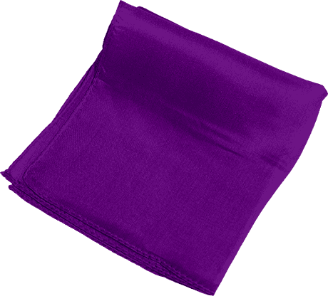 Silk 9 inch (Violet) Magic by Gosh - Trick