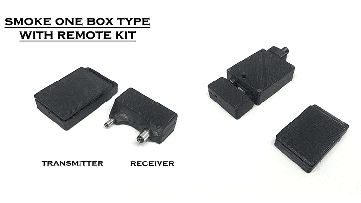 Smoke One Remote Kit by Lukas - Trick