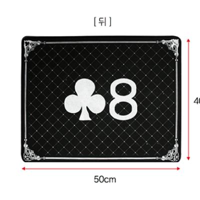 High Class Close Up Pad (Black) by JL Magic - Trick