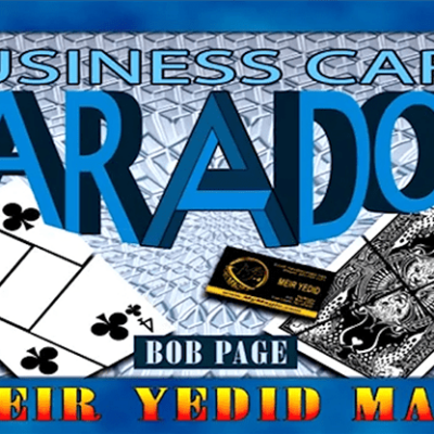 Business Card Paradox by Bob Page - Trick