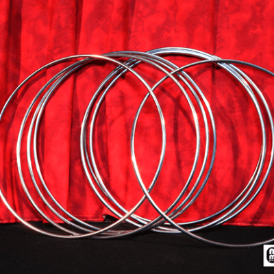 12 inch Linking Rings SS (8 Rings) by Mr. Magic - Trick