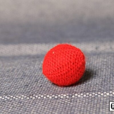 Crochet Ball .75 inch Single (Red) by Mr. Magic - Trick