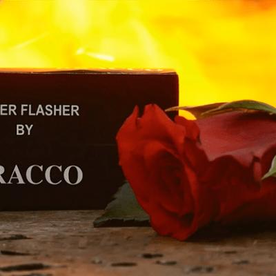 Finger Flasher (Black) by Jeremy Bracco - Trick