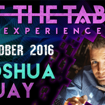 At The Table Live Lecture Joshua Jay October 19th 2016 video DOWNLOAD