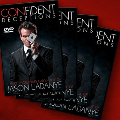 Confident Deceptions (4 DVD Set) by Jason Ladanye - DVD