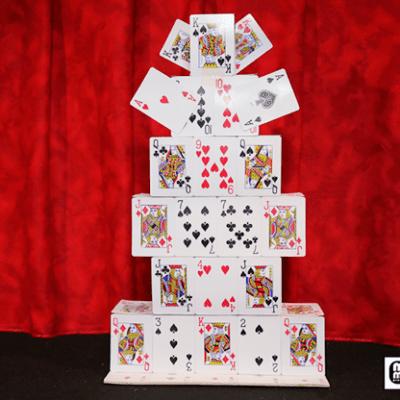 Card Castle Junior by Mr. Magic - Trick