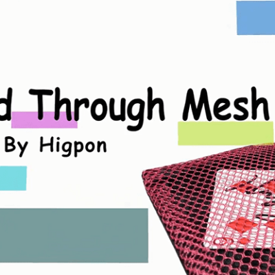 Card Through Mesh Bag by Higpon - Trick