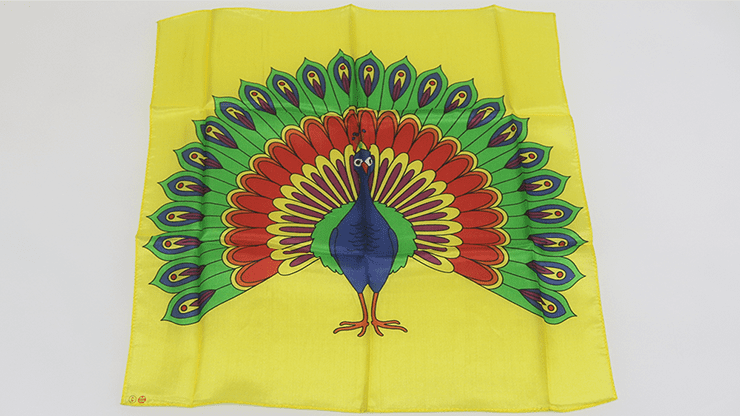 Giant Peacock Silk (18 inch) by Goshman - Trick