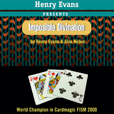 Impossible Divination (Gimmicks and DVD) by Henry Evans and Alex Nebur - Trick