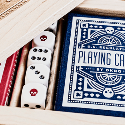 DKNG (Blue Wheel) Playing Cards by Art of Play