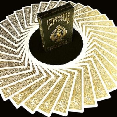 Bicycle MetalLuxe Gold Playing Cards Limited Edition by JOKARTE