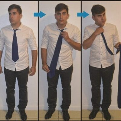 Comedy Necktie (Blue) by Nahuel Olivera - Trick